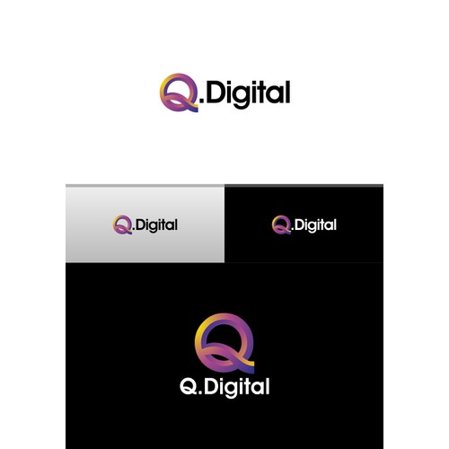 "Logo design for ""Q.Digital"""