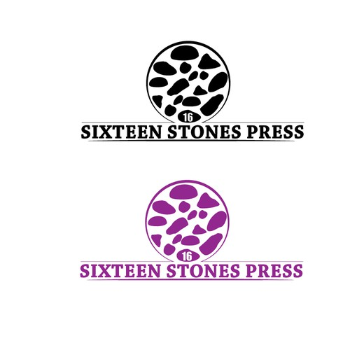 "Create classic logo for micro-publisher ""Sixteen Stones Press"""