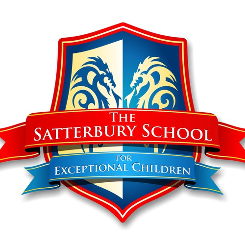 Logo for a new school