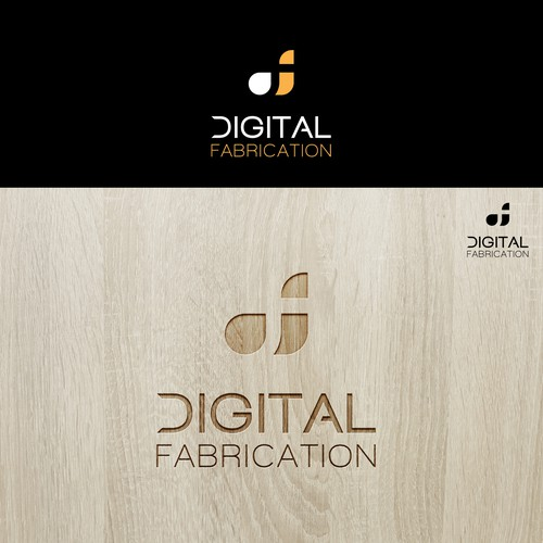 Design a luxury and creative logo for Digital Fabrication