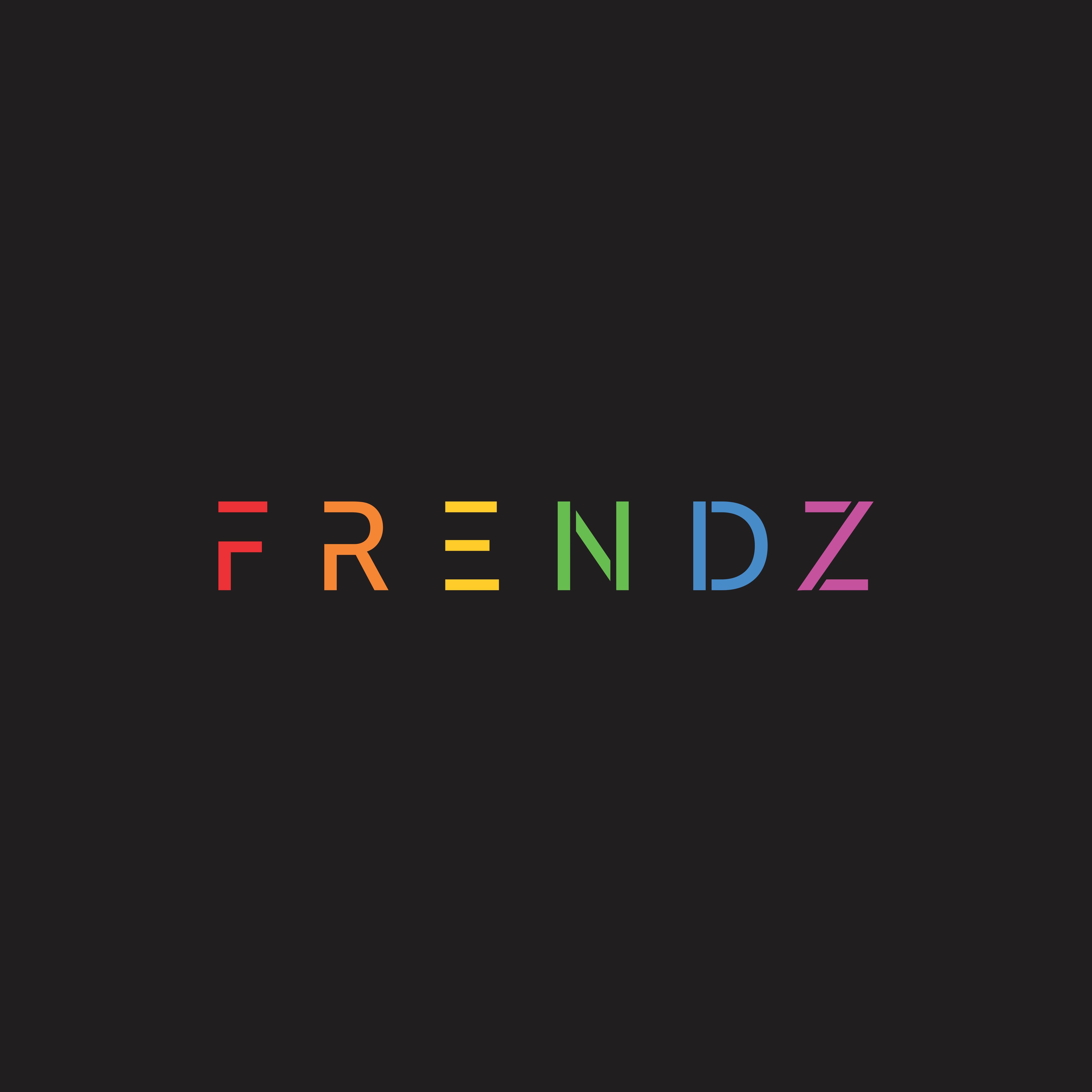 Unique rainbow in logo