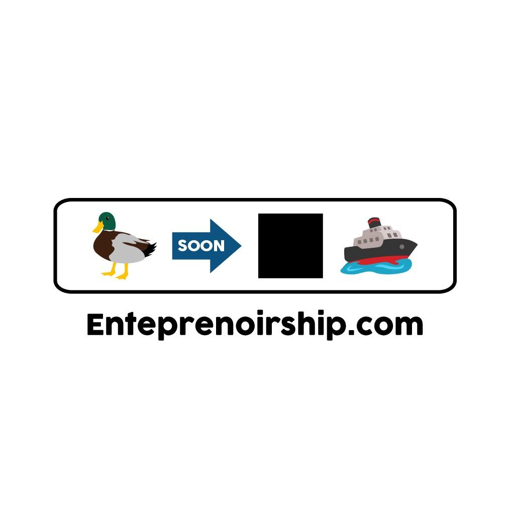 Die neue Unternehmerbewegung Ente pre Noir Ship