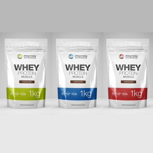 Protein Avenue Packaging Design