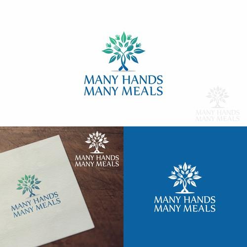 Logo for nonprofit Many Hands Many MealsCommunity & Non-Profit