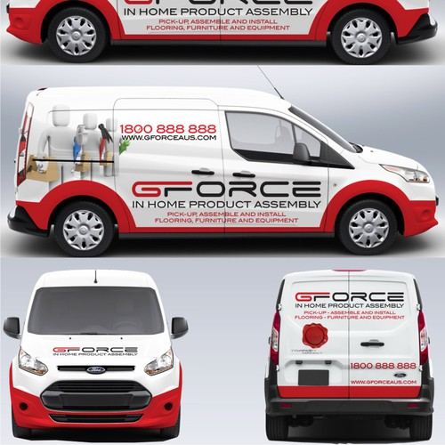 Vehicle wrap for GFORCE