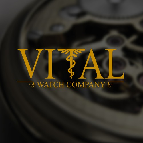 logo design for Vital watch company