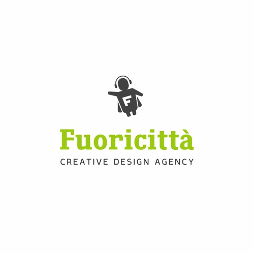 """Logotype for Creative Design Agency """"Fuoricittà"""""""