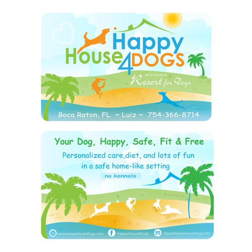 Fun and unique business card design