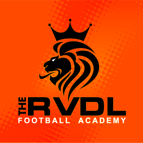 Robin Van Der Laan Football Academy Logo