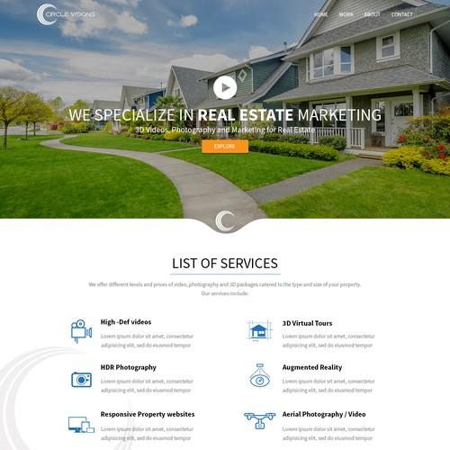 Clean Custom Responsive Design