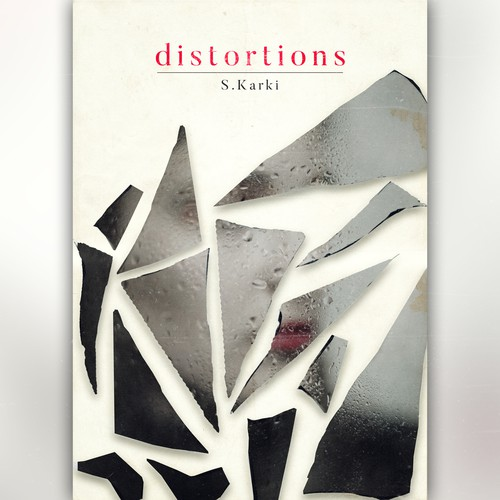 Distortions Minimal Book Cover