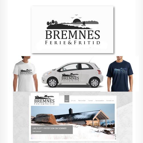 Bremnes Ferie & Fritid needs a new logo