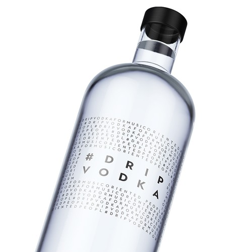 Vodka label Design