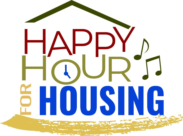 Design a logo for a music event supporting tiny houses for homeless folks.