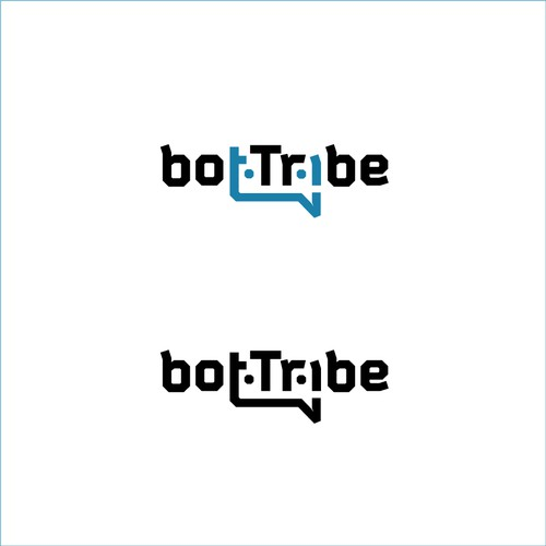 Logo design concept for an open source community for bot builders