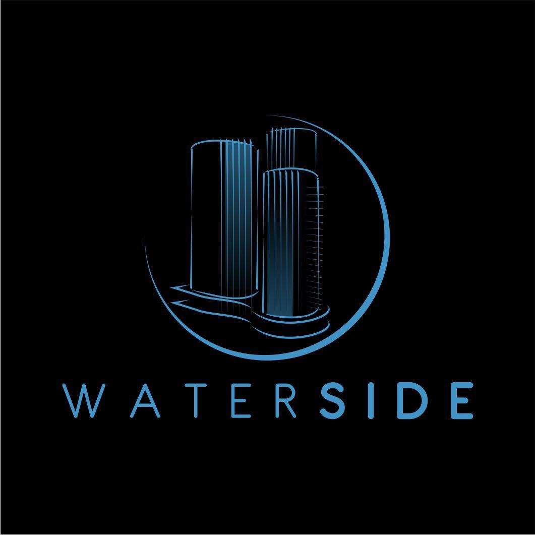 Waterside - Logo Design - Architecture, Buildings, Development, Real Estate