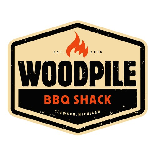 Woodpile BBQ Shack needs a great logo!