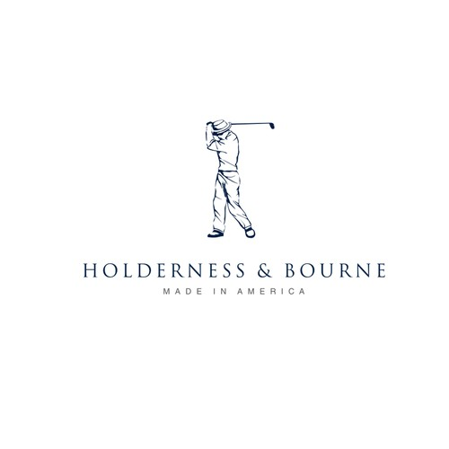 New logo for Holderness & Bourne, a classic golf brand