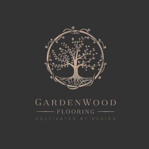 GardenWood Flooring Logo