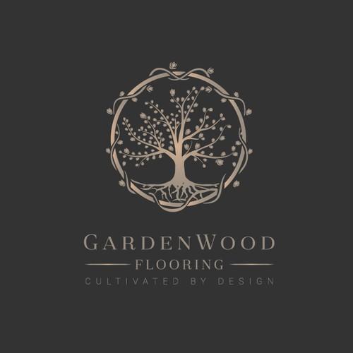 GardenWood Flooring Logo