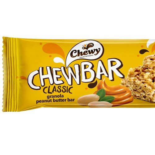 Granola Bar Packaging Design