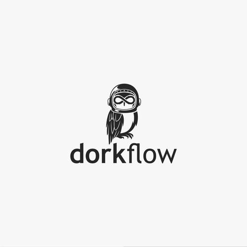 Bold Logo Concept for dorkflow