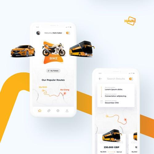 A high-class passenger transportation App