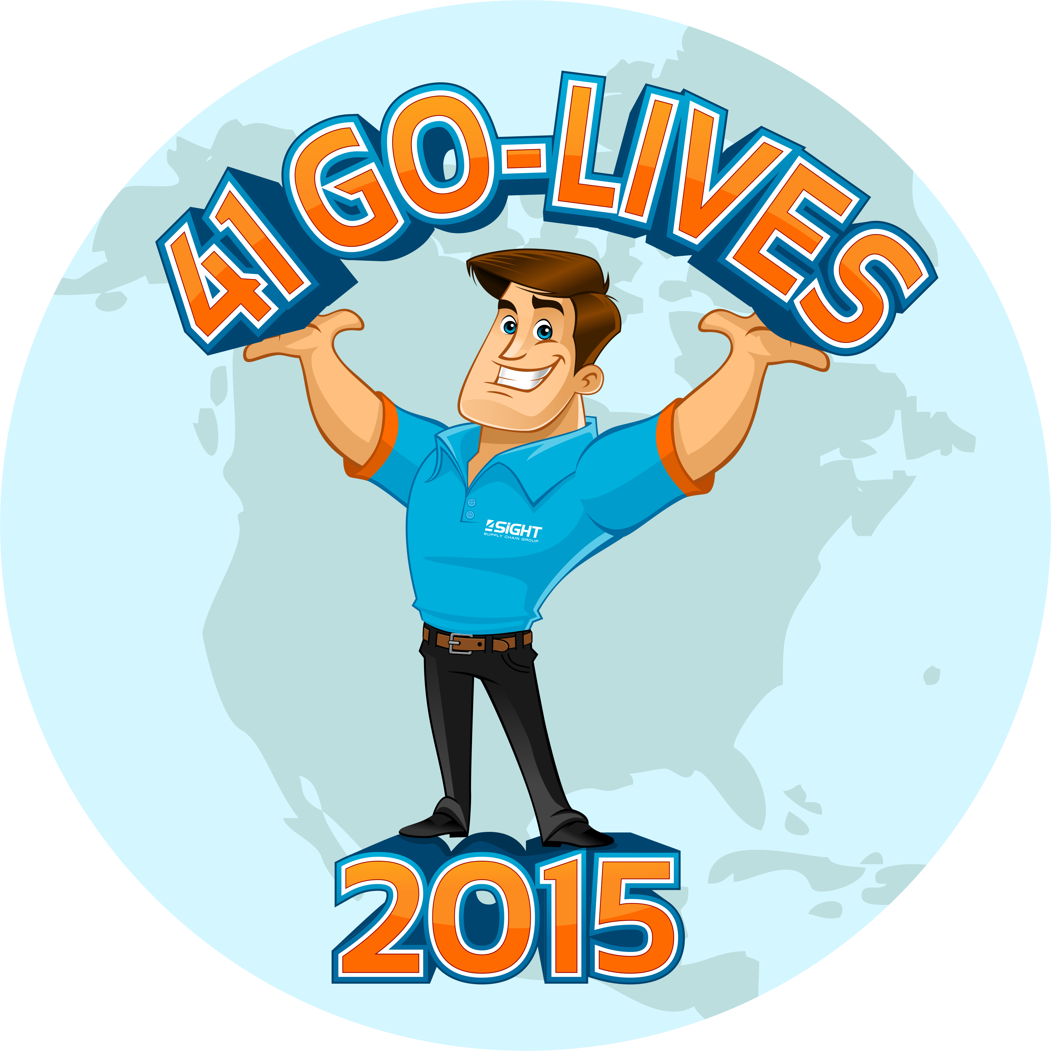 41 GO-LIVES in 2015