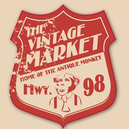 Create the next logo for The Vintage Market