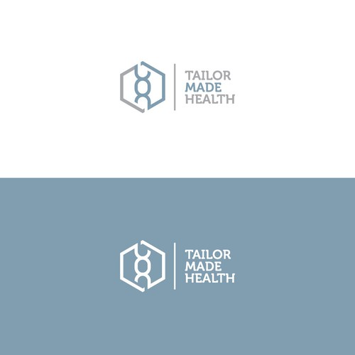 Simple logo for pharmaceutical company