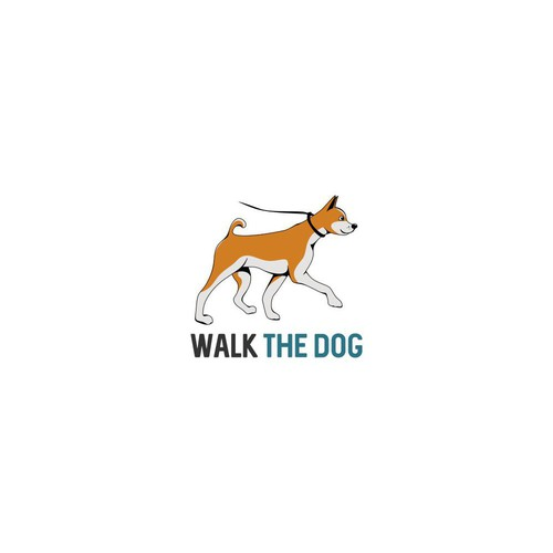 Logo concept for Walk the Dog