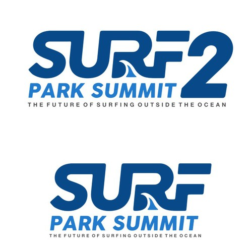 "Logo Design for ""Surf Park Summit 2"""