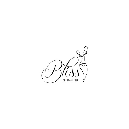 Logo for Bliss Intimates online lingerie boutique