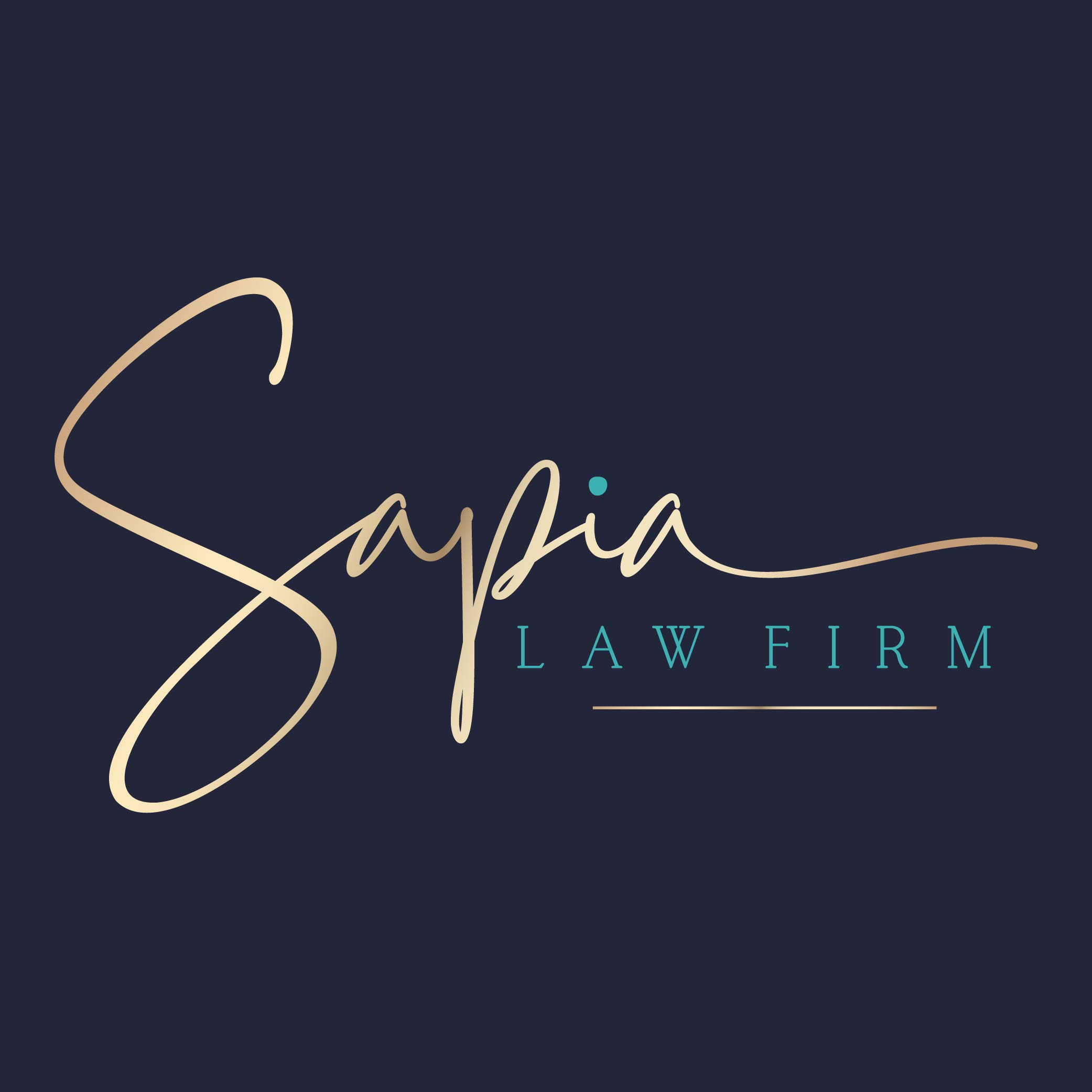 Can you make an Attorney's Logo look sophisticated and inviting?