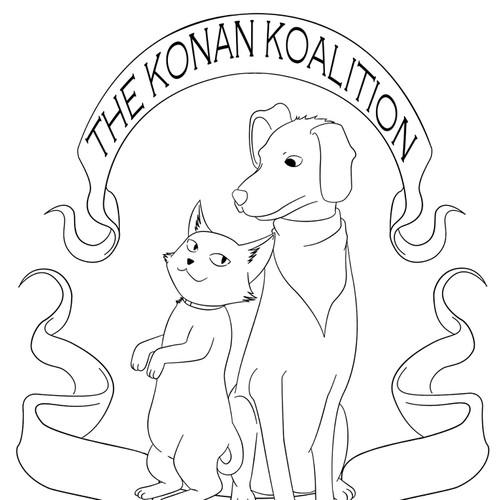 INSPIRED BY OLD SCHOOL TATTOO ART (animal welfare non-profit)