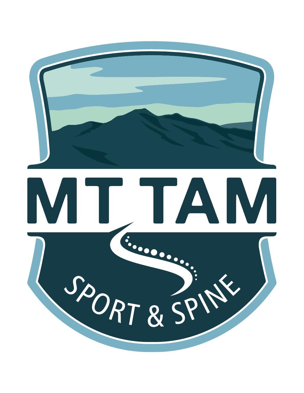 Design a simple yet artistic sports medicine logo for Mt Tam Sport & Spine