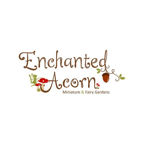 logo for fairy garden