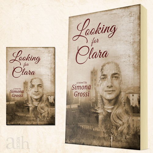 Cover for a novel