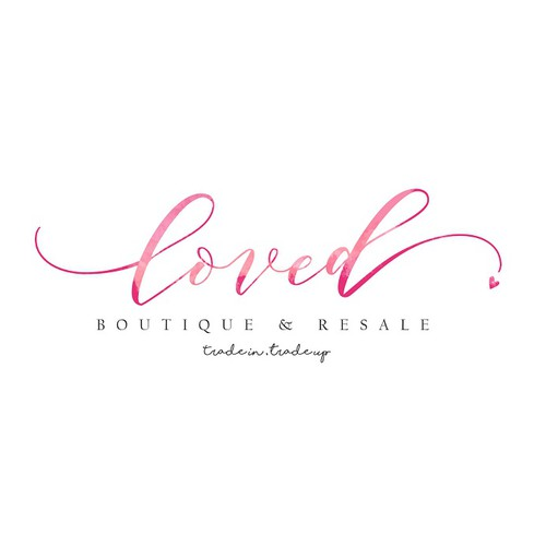 Strong Feminine Logo for Loved boutique and Retail