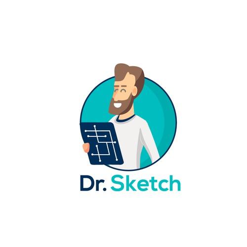 Dr. Sketch Logo