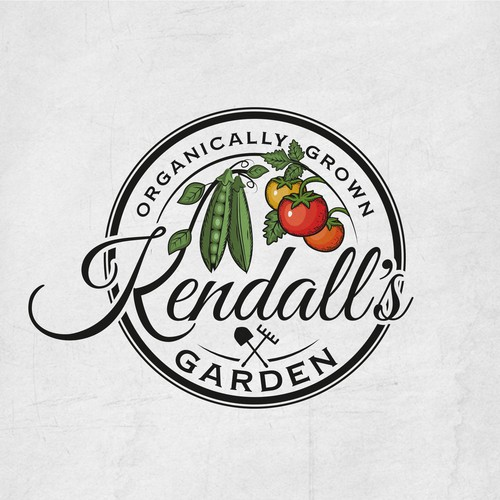 vegetable farm logo