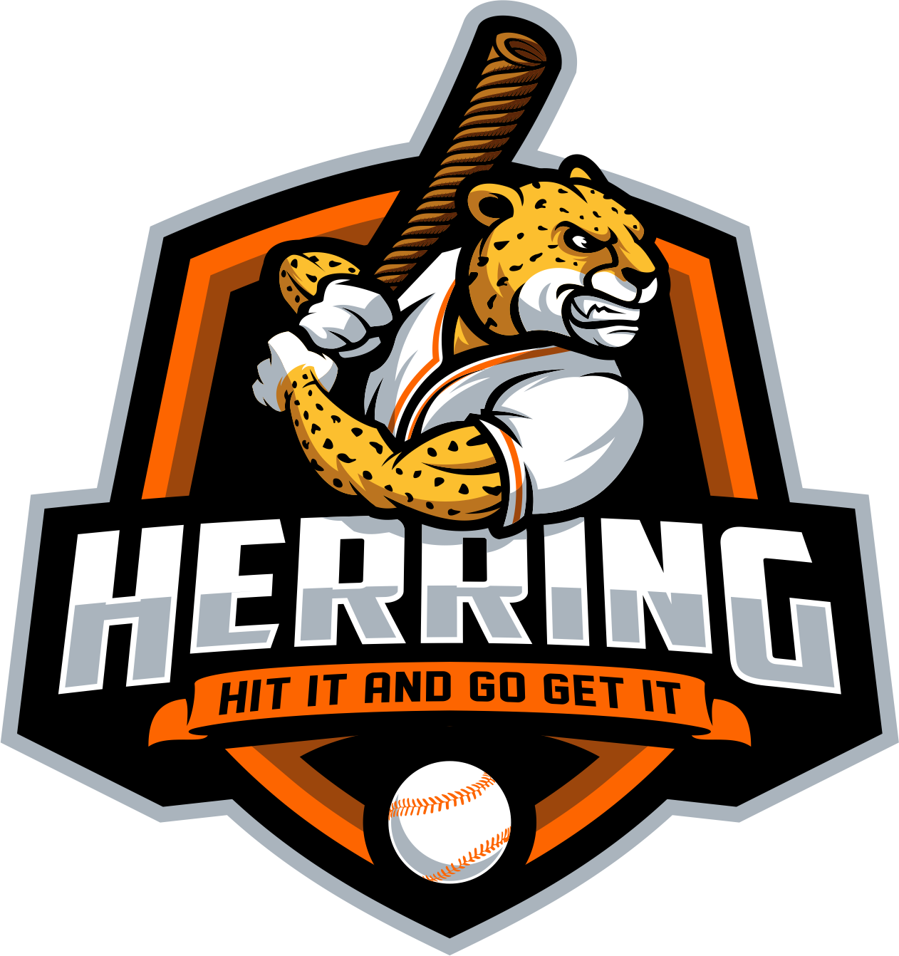 Need modern hip baseball logo for podcast for parents of baseball players. Cool n Funky