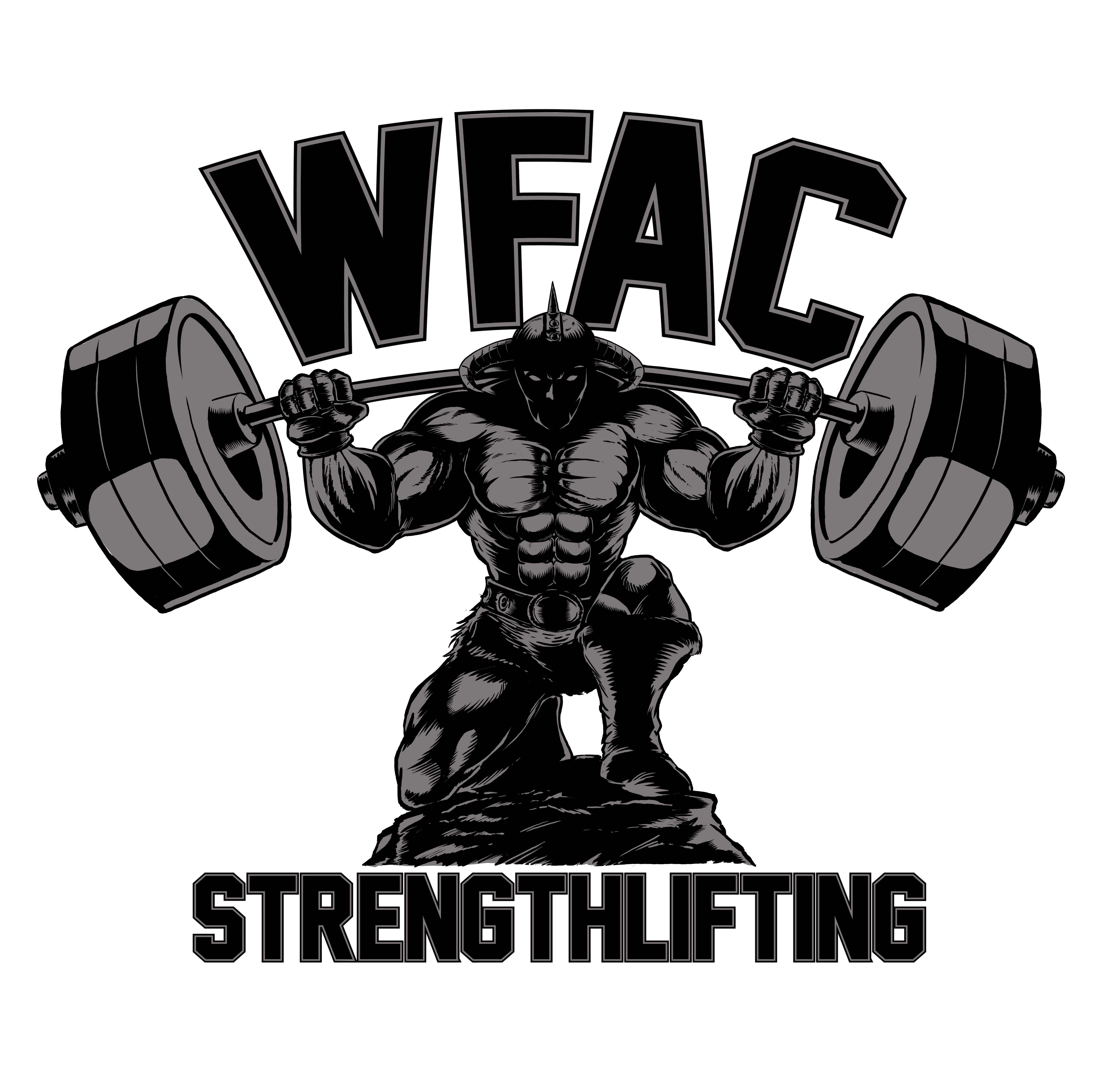 80s, Norse, Frazetta inspired design for weight lifting meet