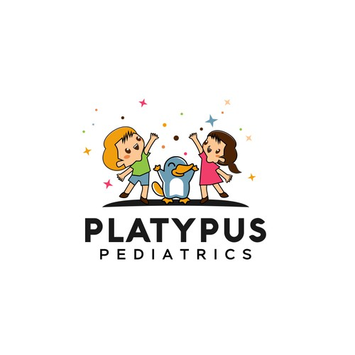 I need a logo that will make people smile for my solo pediatric practice.