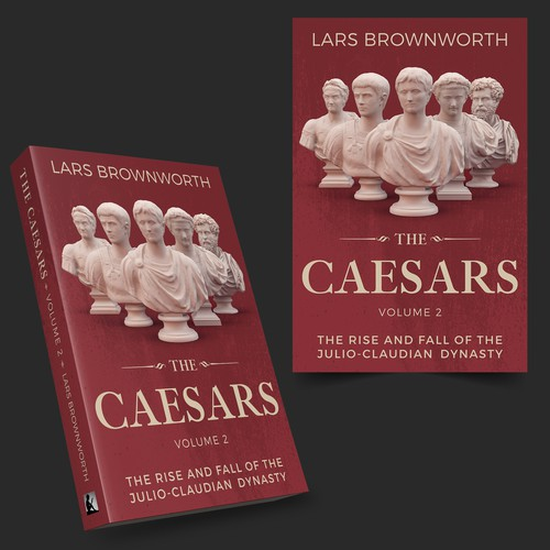 The Caesars Book cover concept