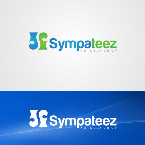Create a logo for a new startup recruiting project called Sympateez