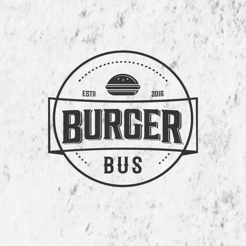 Design logo for Burger Bus