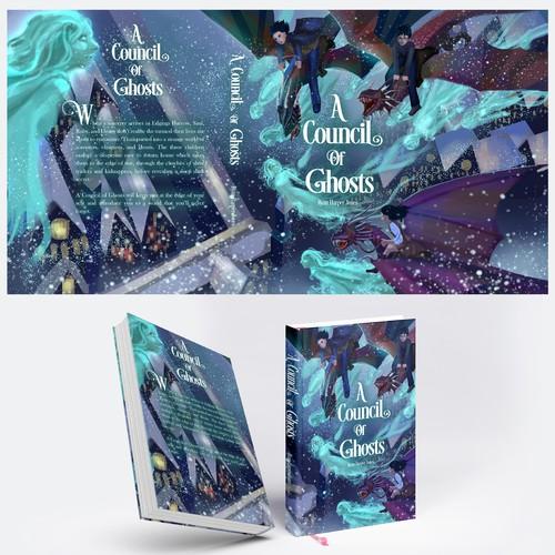 Book cover illu