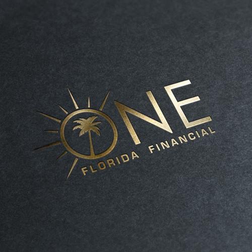 Logo concept for financial company in Florida