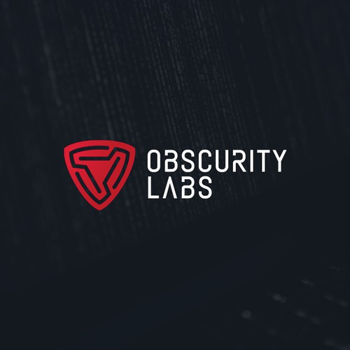 Powerful logo for cybersecurity startup
